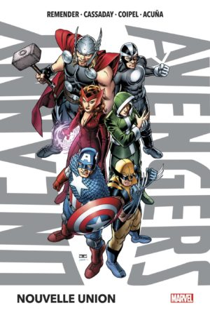 uncanny avengers deluxe marvel tome 1