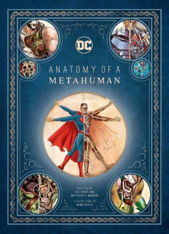 anatomy of a metahuman comics