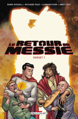 le retour du messie verset 1 delcourt comics