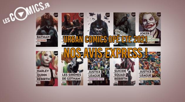 urban comics opération été 2021