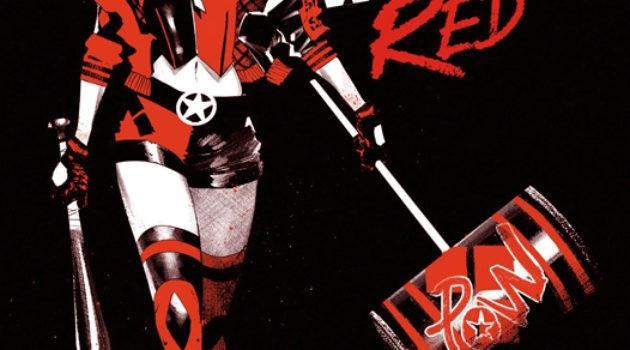 Urban Comics Harley Quinn Black White Red avis