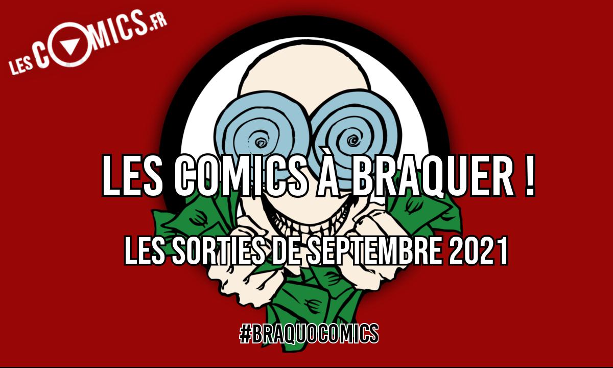 sorties comics septembre 2021